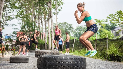 Fitness bootcamp Thailand