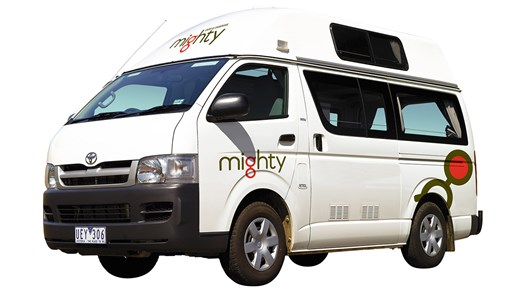 Rent a Mighty Highball campervan in Australia