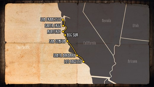 Road Trip US Highway Take A Road Trip With KILROY - Us highway 1 map