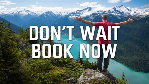 Usa Canada Dont Wait Book Now