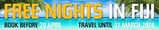 Two free nights and transfers in Fiji