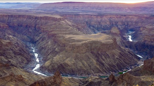 The largest canyon in Africa - Fish River Canyon, Namibia