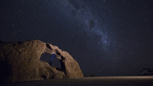 Experience a million star accommodation in the Namib Desert