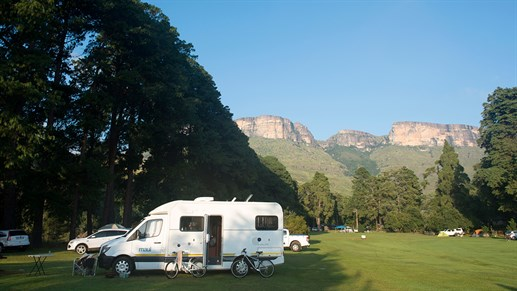 road tripping in south africa in a motorhome