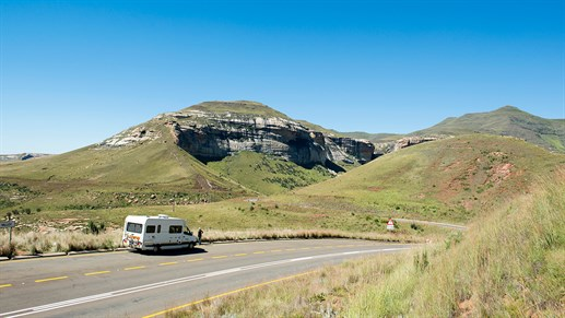 A cool road trip in southern Africa awaits you