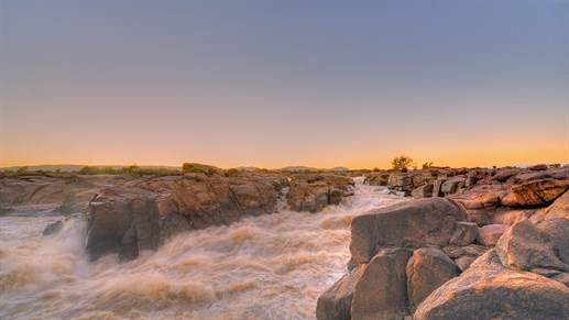 Orange river - Augrabies falls