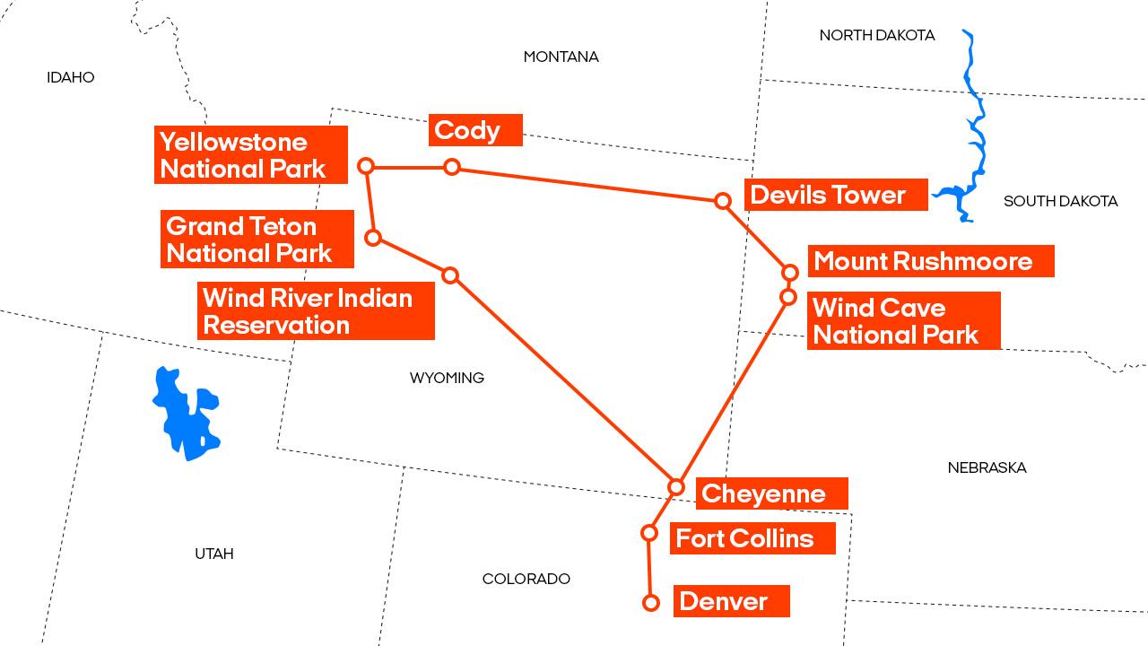 One Way Car Rental Usa Road Trip