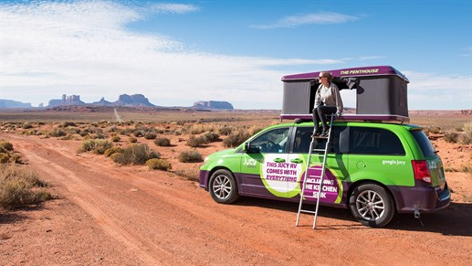 Jucy Trailblazer - rent this campervan in Western USA and Canada