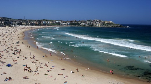Bondi Beach in Sydney - a must visit for all travellers