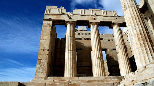 Visit the historic acropolis - a must see when you travel to Athens