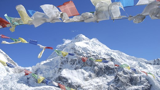 Nepal is home to the world's highest mountain - Mount Everest