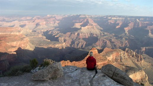 Soak up the amazing view of Grand Canyon