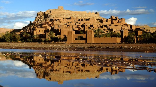Ait Benhaddou - This small village has been used as location for several films: Gladiator, The Mummy, Kingdom of Heaven and many more.