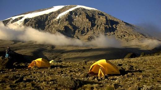 Trekking To Mount Kilimanjaro Climbing To The Top Of