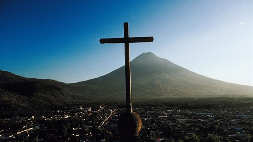 Visit the old city of Antigua in Guatemala