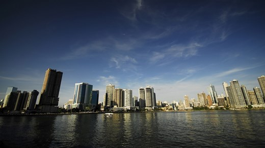 Panama City only has 1 mill habitants, but is still a major metropolis
