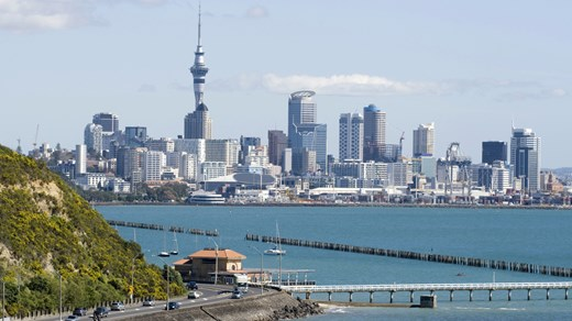 Auckland harbour and skyline - plenty of activities to do in and around Auckland