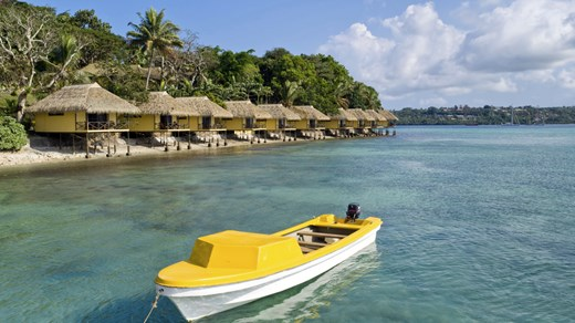 Travel to Vanuatu and snorkel in the cristal clear waters