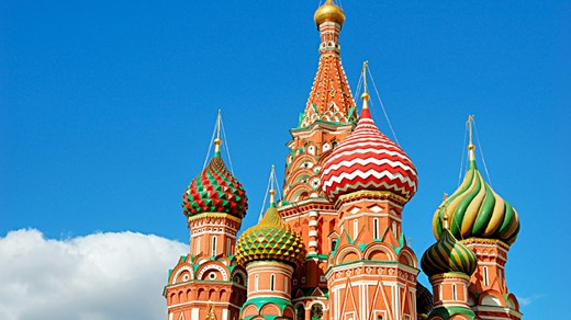 St. Basil's Cathedral in Moscow's Red Square.