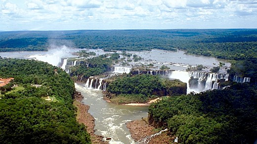 Travel to Paraguay and witness the amazing Iguazu Falls