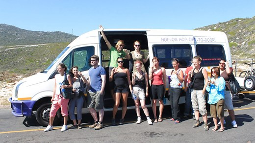 Backpacking through South Africa with a bus pass from Baz Bus