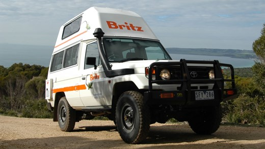 Rent a 4WD Bushcamper in Australia