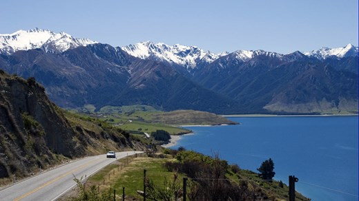 Take a road trip along through New Zealand, but be aware you might meet an Ork on your way...
