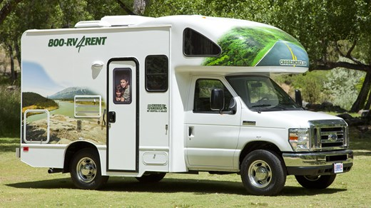 Rent a motorhome in USA or Canada