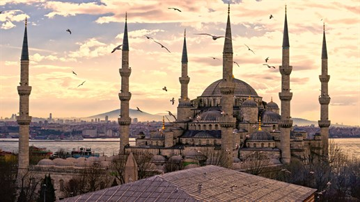 Fly to Istanbul the hub of Turkish Airlines