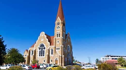 Visit the churches in Windhoek and see the German architecture