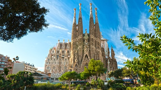 A trip to Barcelona is a trip to the still unfinished La Sagrada Familia