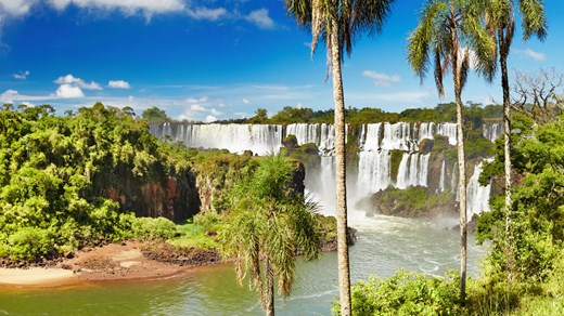 Travel to the amazing Iguazu Falls in Argentina. Nature's own miracle!