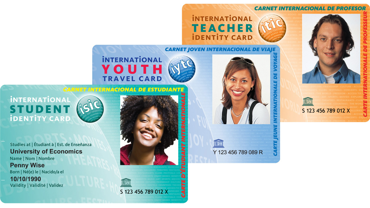 ISIC, IYTC and ITIC Cards - KILROY