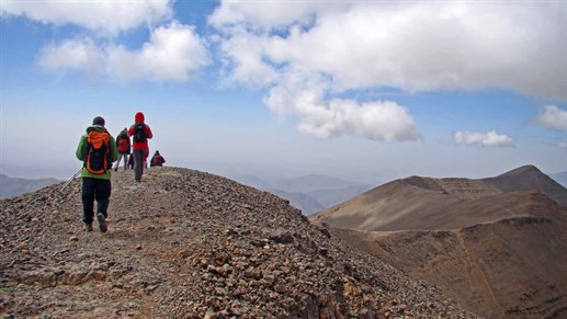Experience views you'll never forget when trekking in Morocco