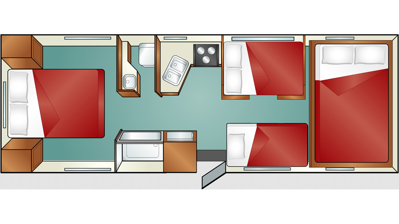 Kitchen layout dimensions - Large C 30 Cruise America Motorhome Rent A Motorhome In Usa Kilroy