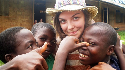 Become a volunteer in Ghana with KILROY - work with children in Africa