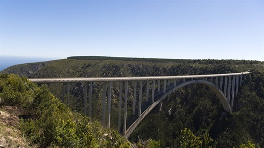 Bungy Jump at Bloukrans Bridge