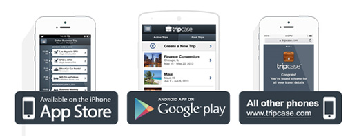 Download the TripCase App