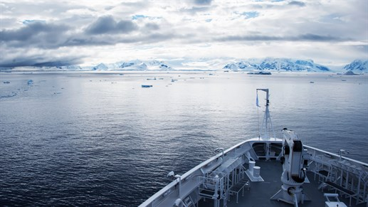 Explore Antarctica onboard the MS Expedition