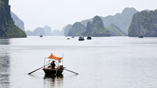 Ha Long Bay, near Hanoi.