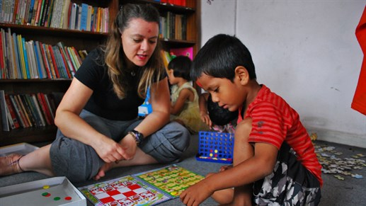 Volunteer projects in India