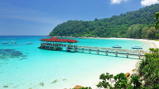 Perhentian Islands have beautiful beaches