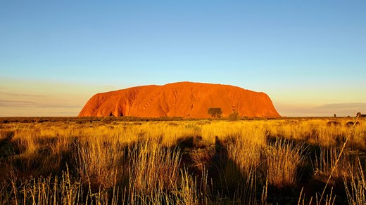 Travel to Ayers Rock in Australia