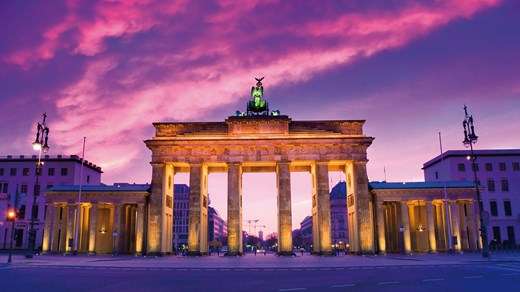 The magnificent Brandenburger Tor in Berlin