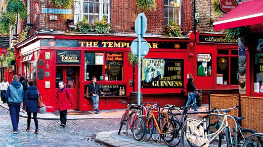 Dublin has a great selection of pubs, bars and restaurants