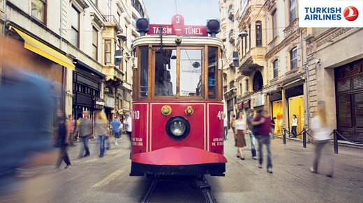 Fly with Turkish Airlines and explore Istanbul