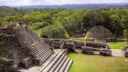 Visit the Mayan ruins in Belize