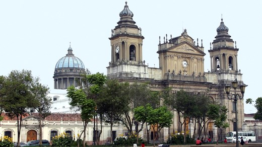 Cathedral in Guatemala City