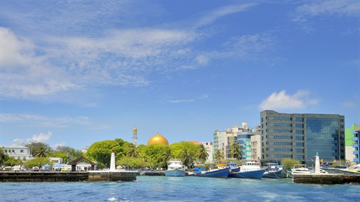 Maldives Male Harbour Mosque