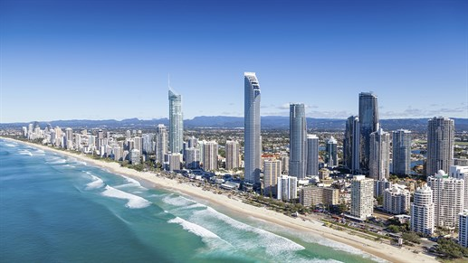 Study on the Gold Coast in Australia